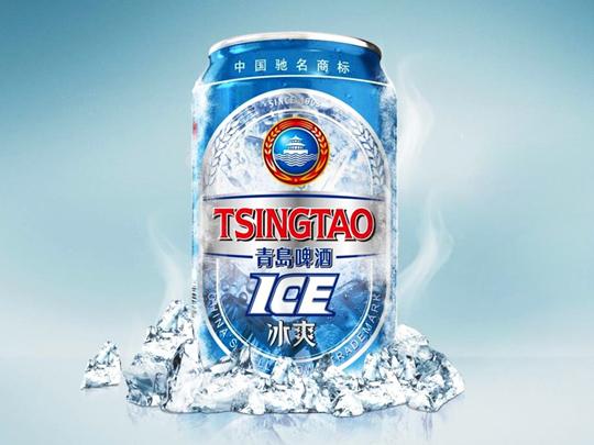 青岛啤酒冰爽包装设计