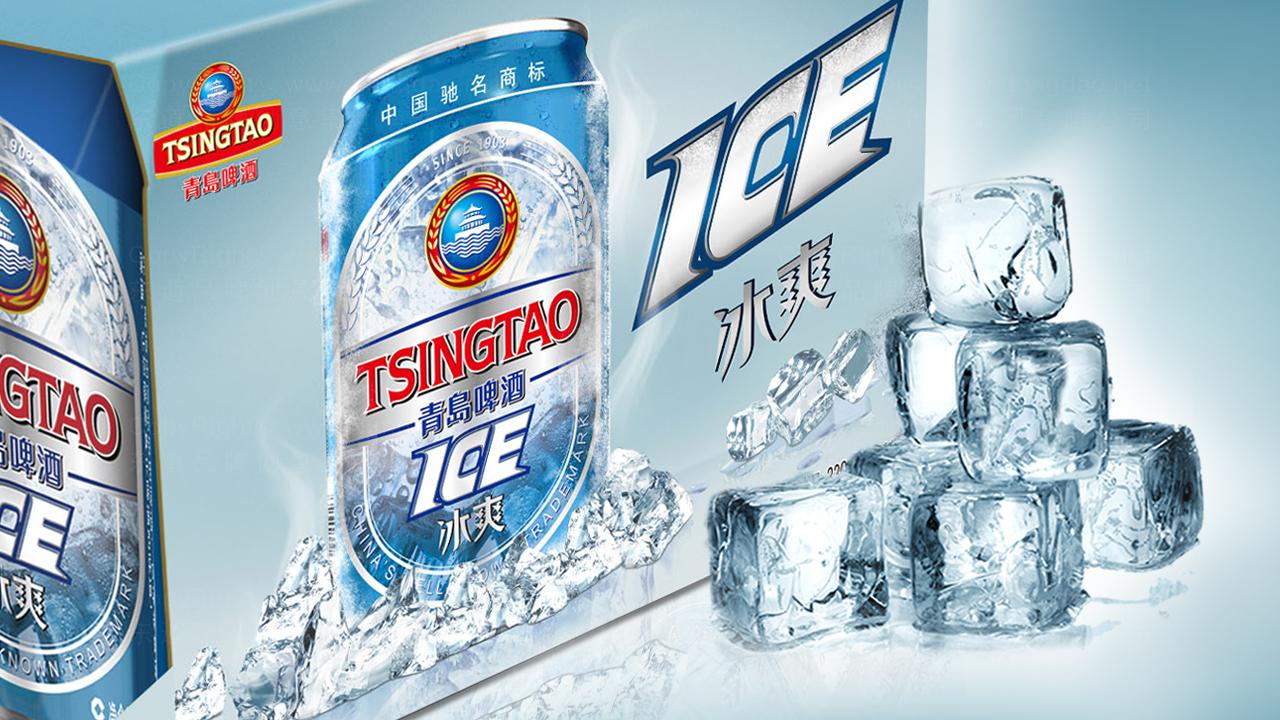 青岛啤酒冰爽包装设计应用