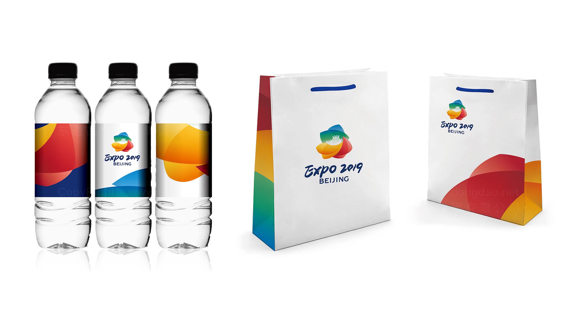 2019北京世园会LOGO设计应用