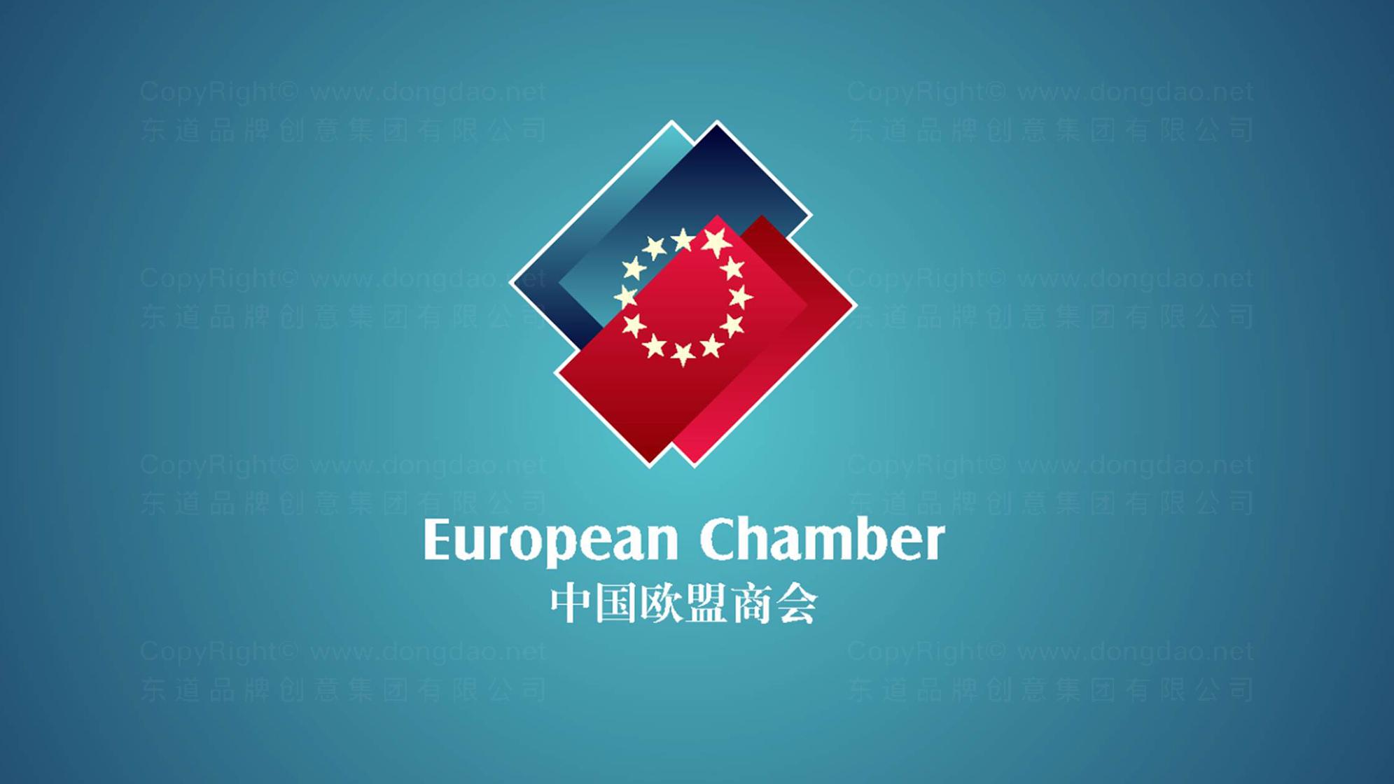 中国欧盟商会LOGO设计、VI设计