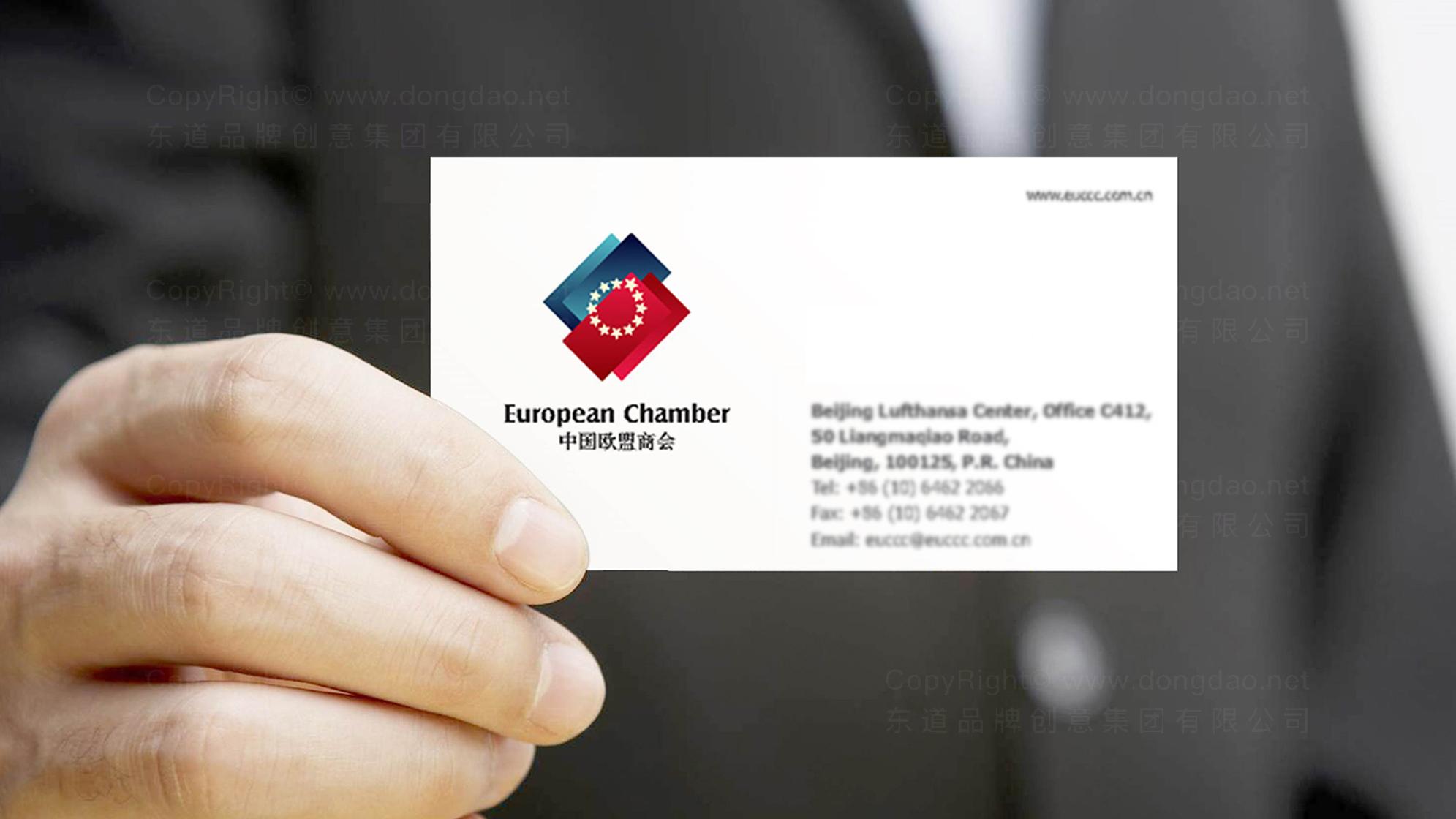 中国欧盟商会LOGO设计、VI设计应用
