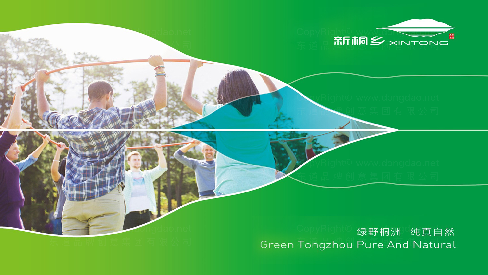 新桐政府logo设计、vi设计应用
