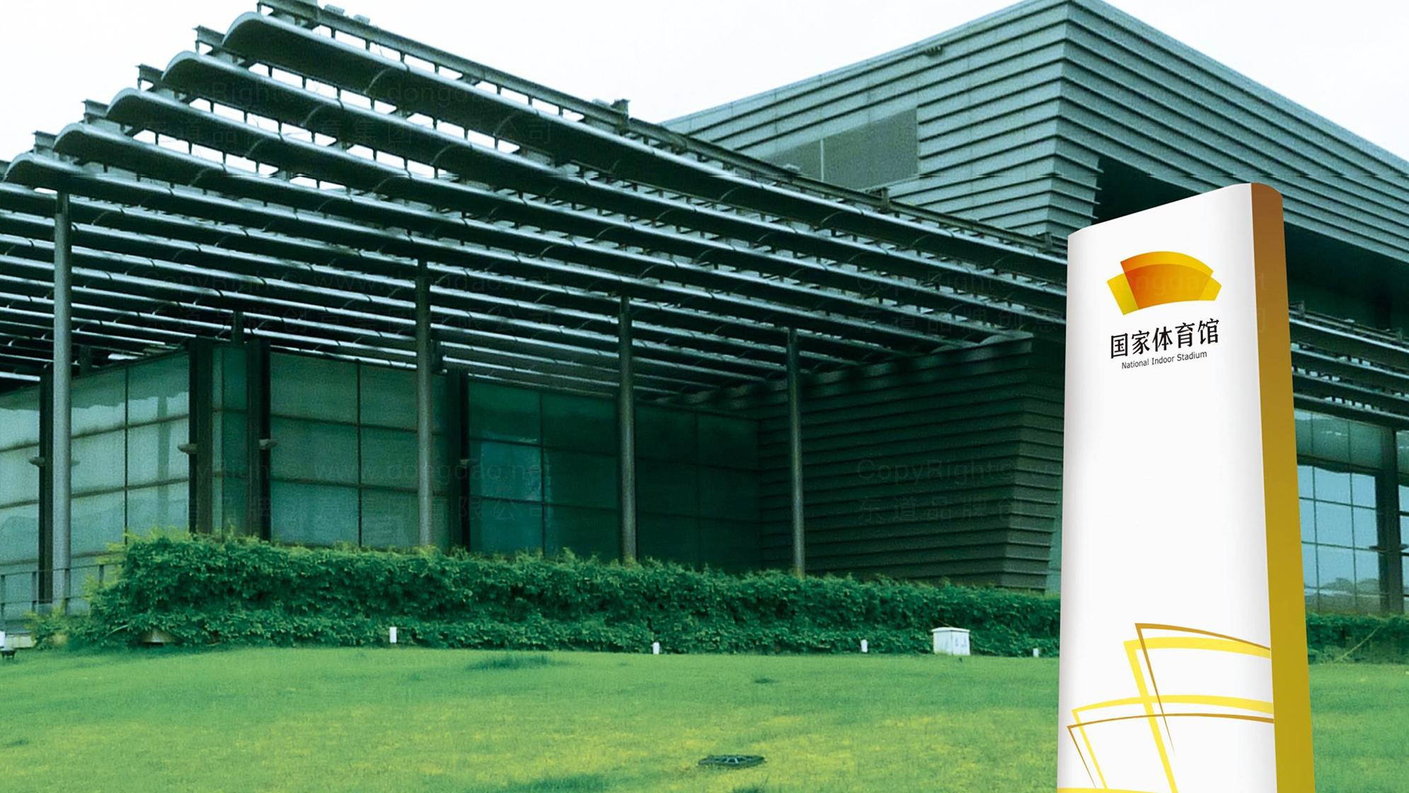 国家体育馆LOGO设计、VI设计应用场景