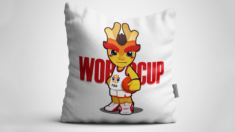2019中国男篮世界杯吉祥物设计