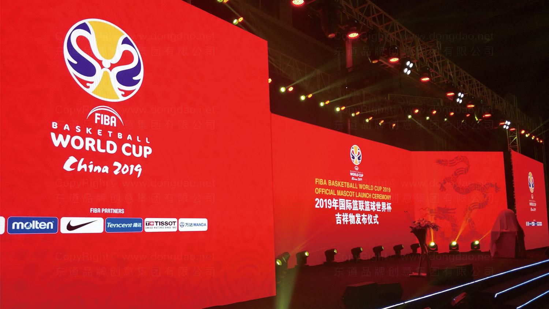 2019中国男篮世界杯吉祥物设计应用场景