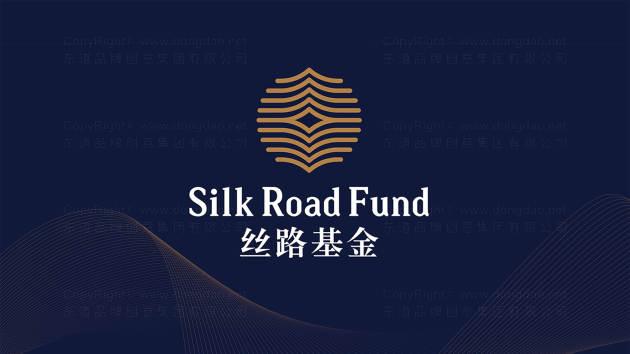 絲路基金公司logo設計、vi設計