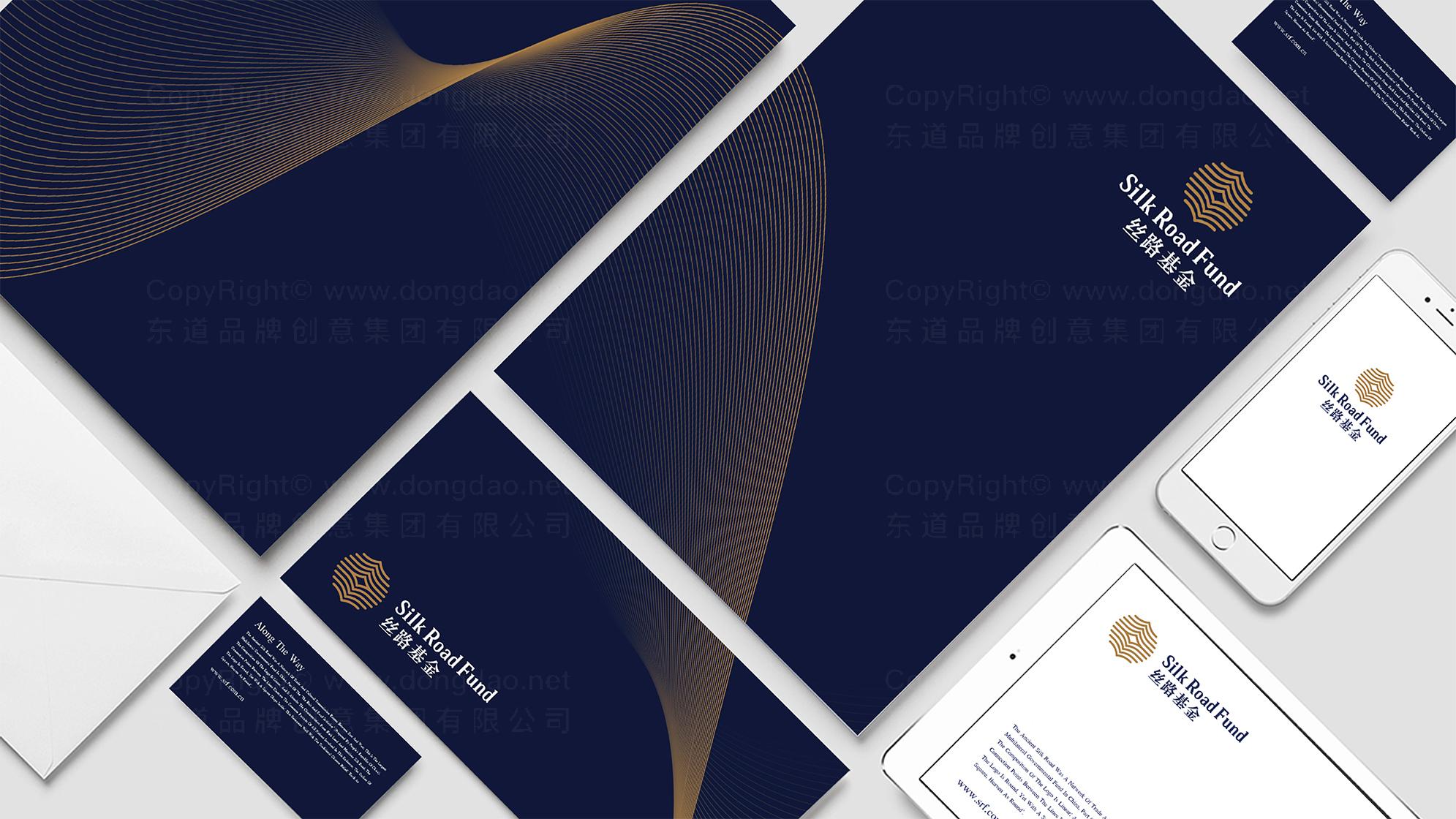 丝路基金公司logo设计、vi设计应用场景