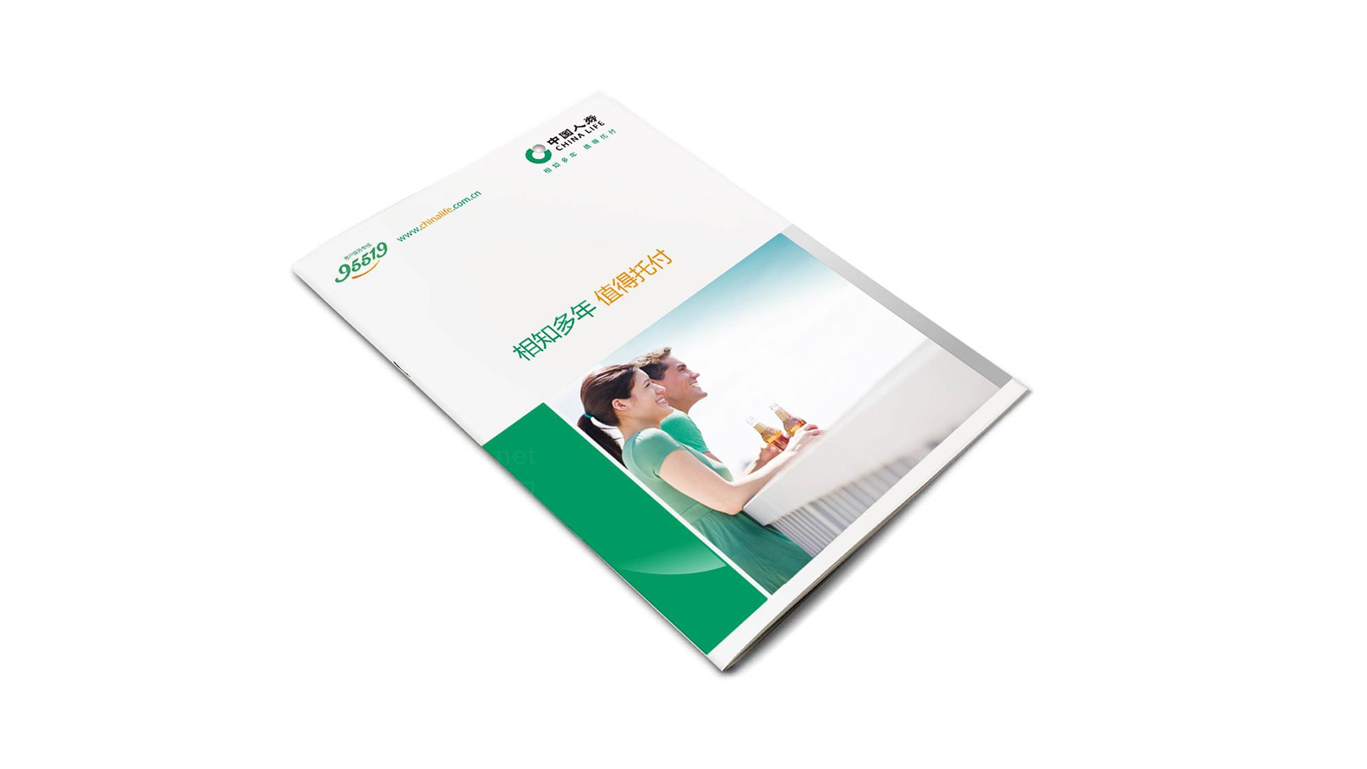 中国人寿保险公司logo设计、vi设计应用场景_11
