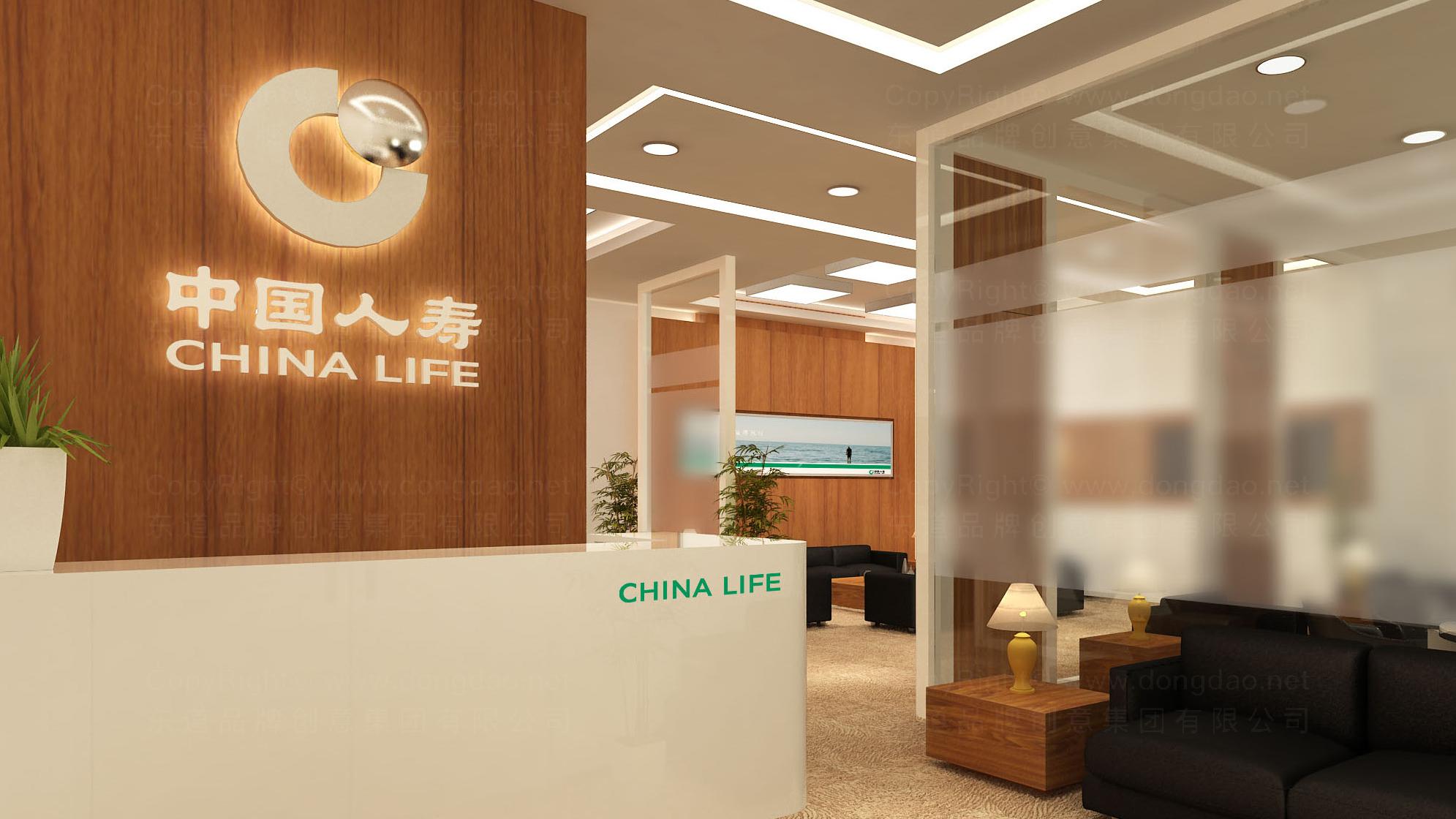 中国人寿保险公司logo设计、vi设计应用场景_21