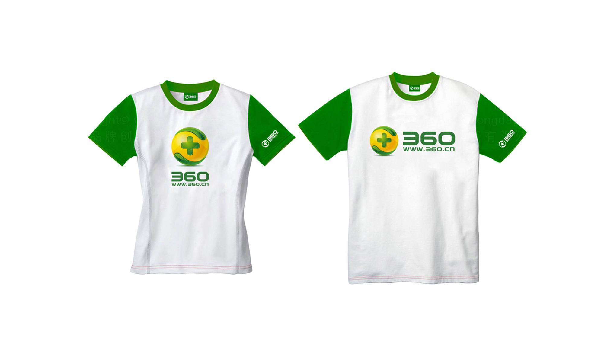 品牌设计360安全中心LOGO&VI设计应用场景_3
