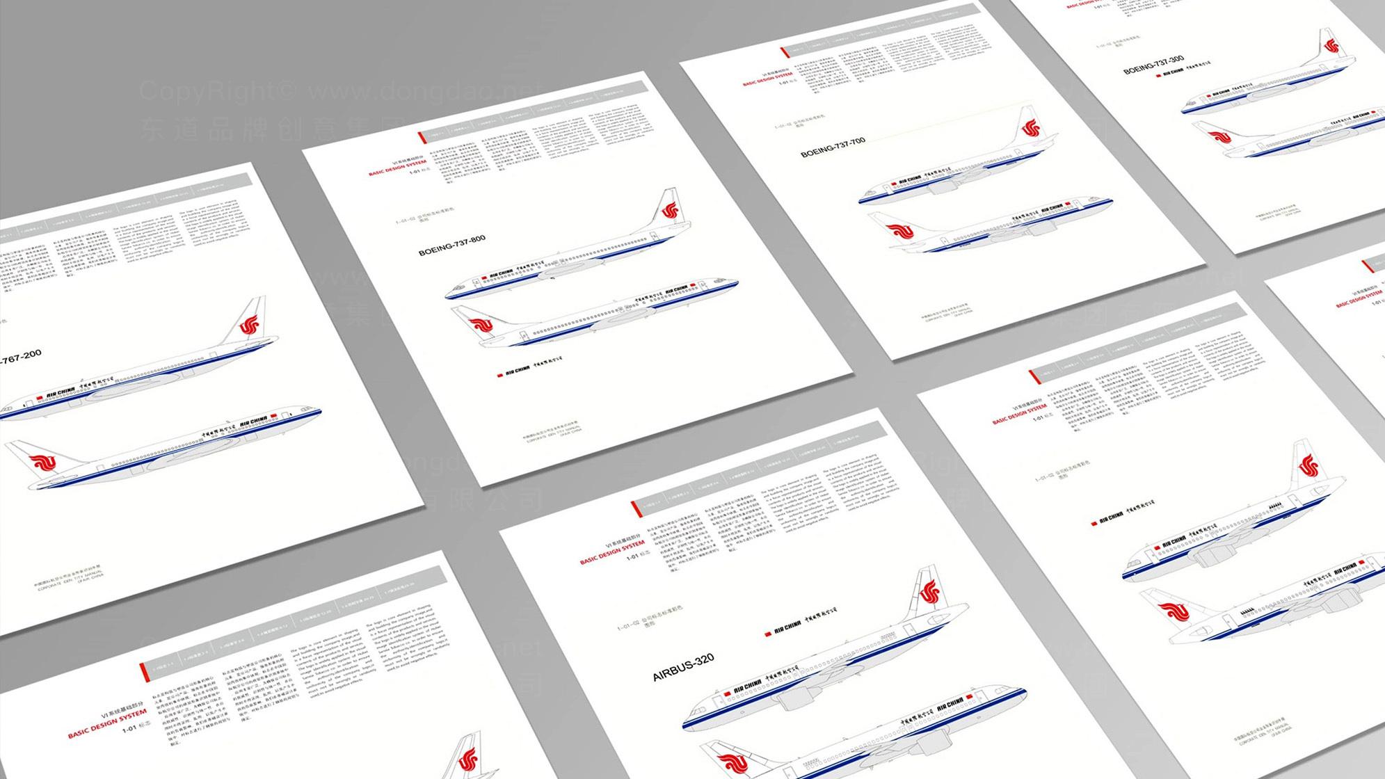 航空公司vi设计应用场景