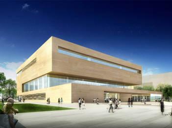 天津美术馆导示设计