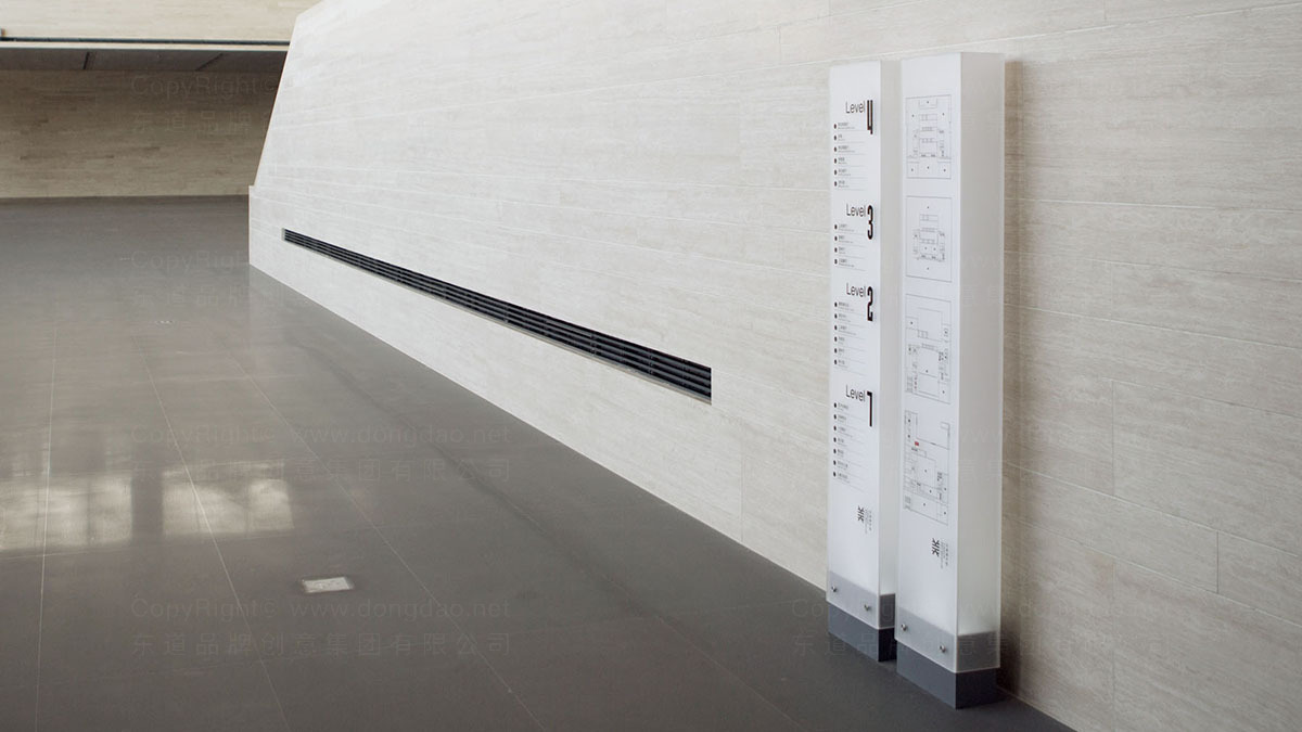 天津美术馆导示设计应用