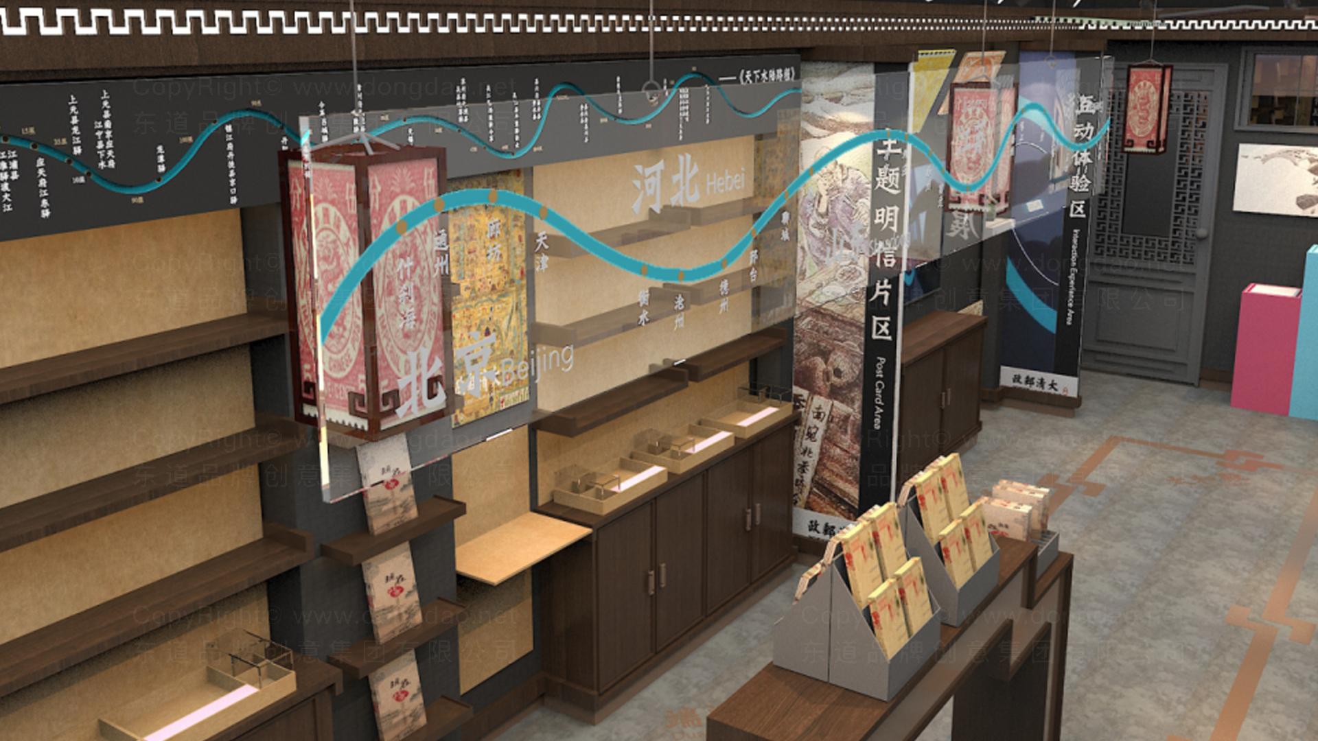 商业空间&导示大清邮政SI设计应用场景_2