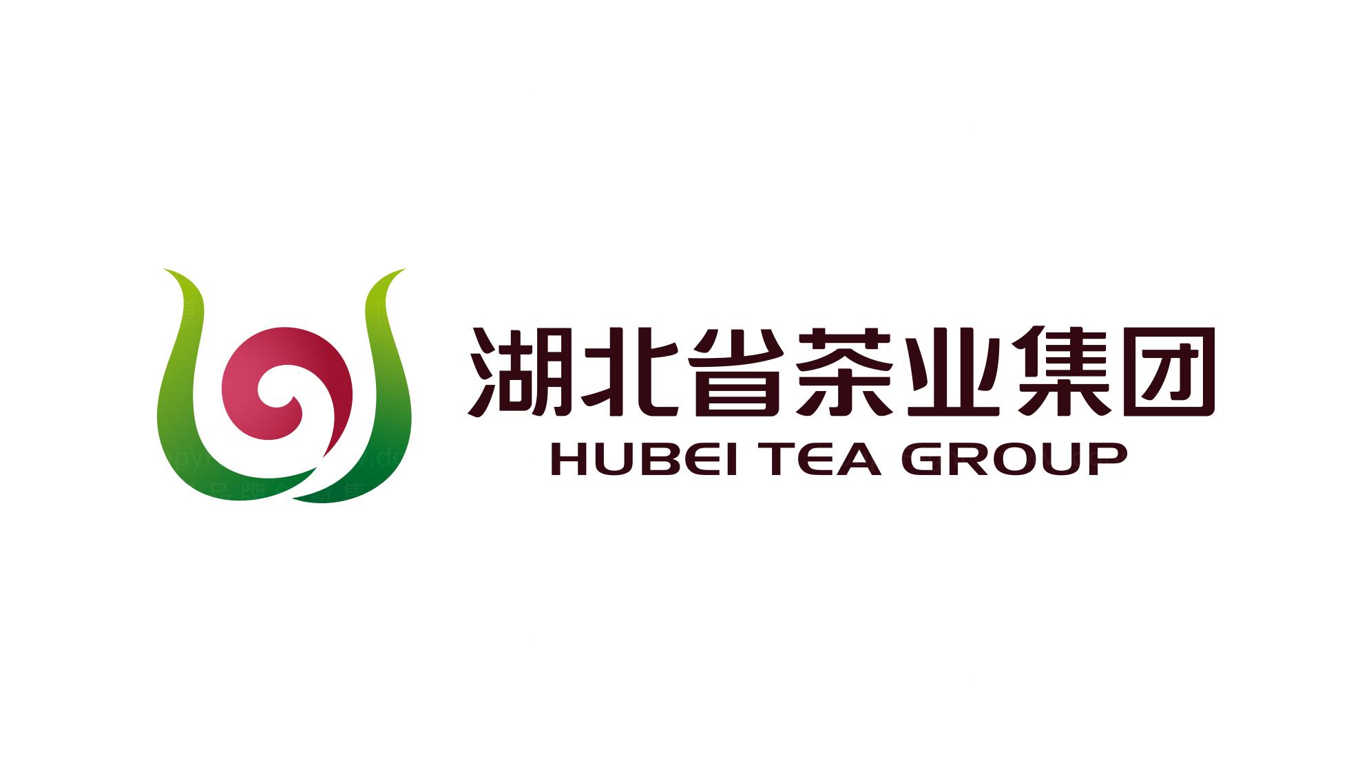 快速消费品牌设计湖北茶业logo设计、vi设计