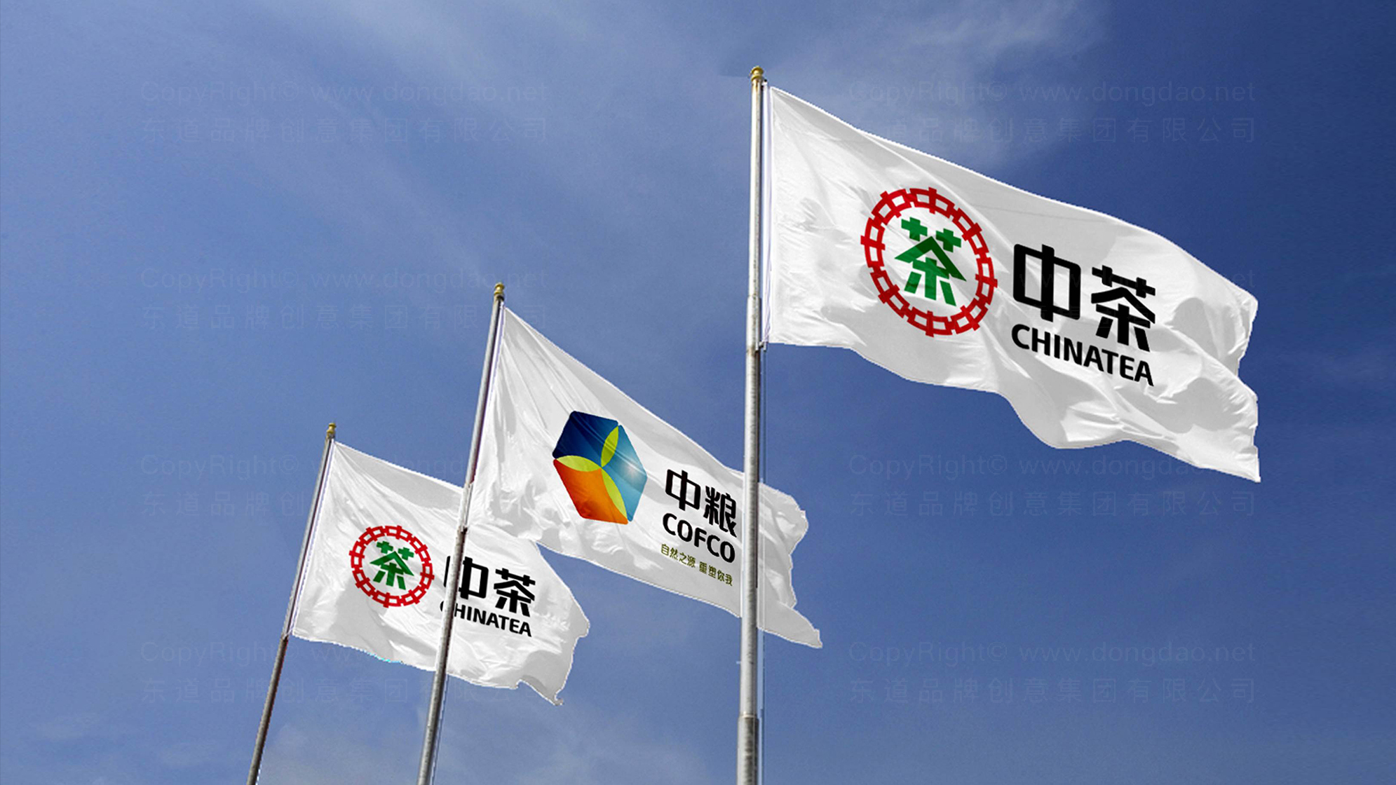 中粮集团logo设计、vi设计应用