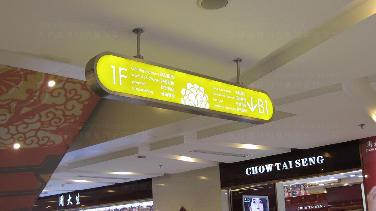 零售购物商业空间&导示绿地缤纷城环境导示