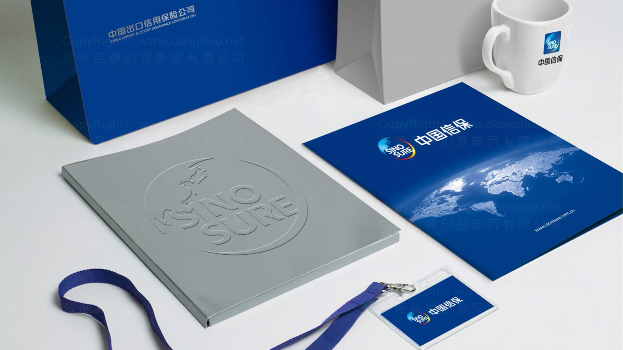 保险公司vi设计logo设计、vi设计应用场景