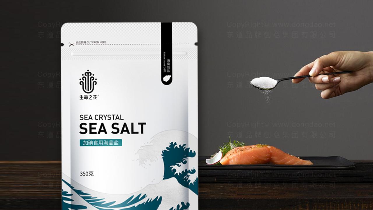 产品包装案例海南盐业产品全案