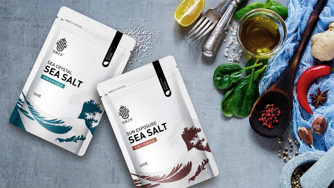 快速消费产品包装海南盐业产品全案