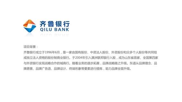 銀行品牌戰略規劃設計