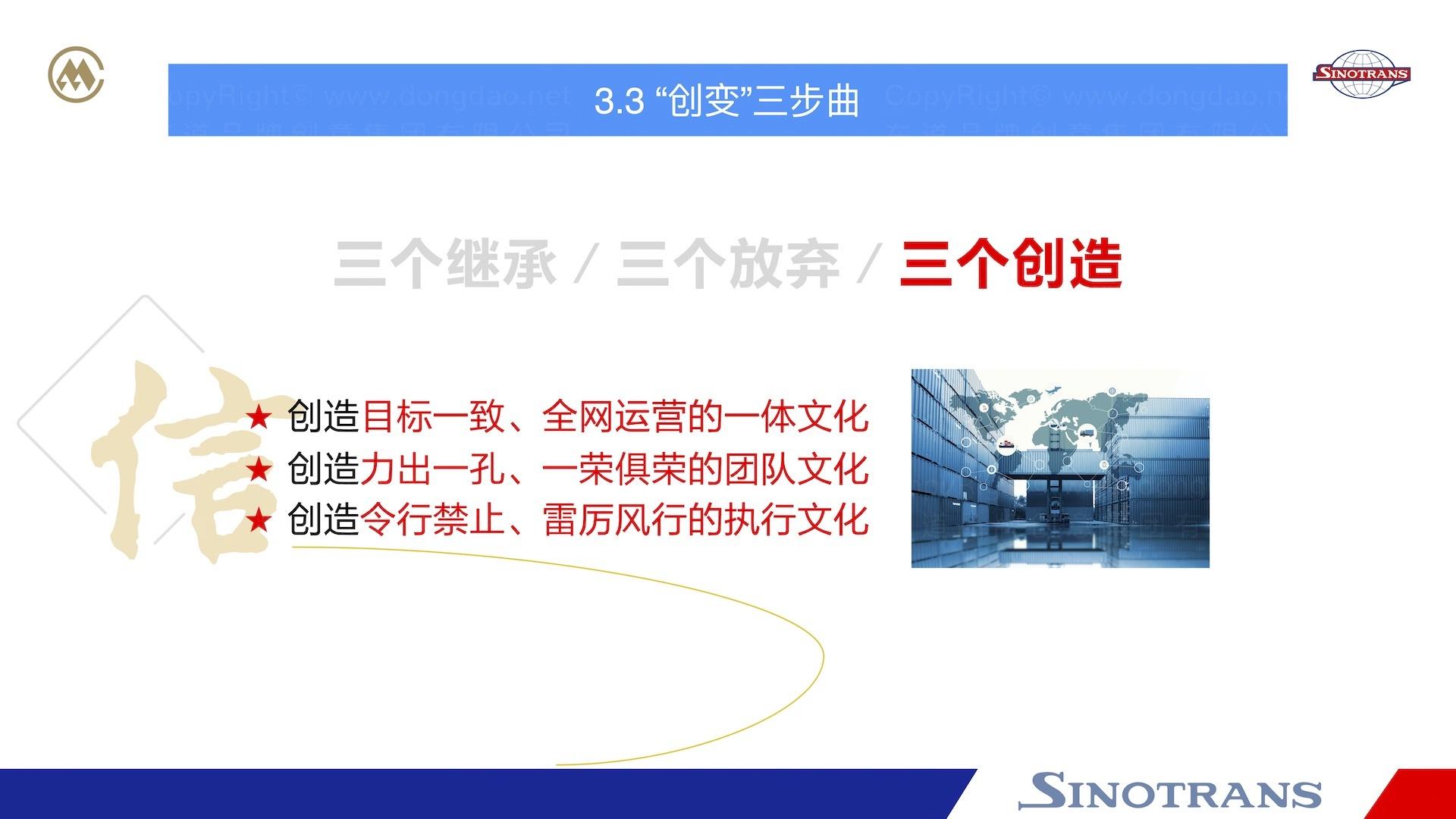 品牌战略&企业文化中国外运企业文化落地项目企业文化手册应用场景_8
