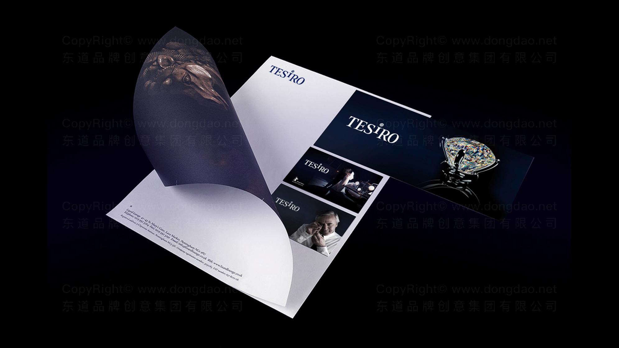 品牌设计通灵珠宝LOGO优化&VI设计应用