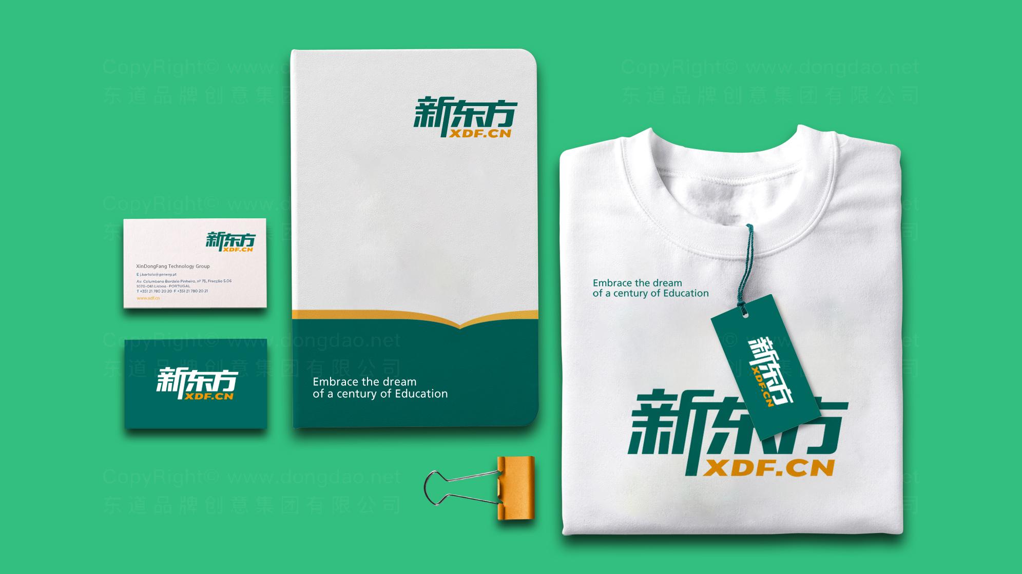品牌设计新东方LOGO&VI设计应用场景_1