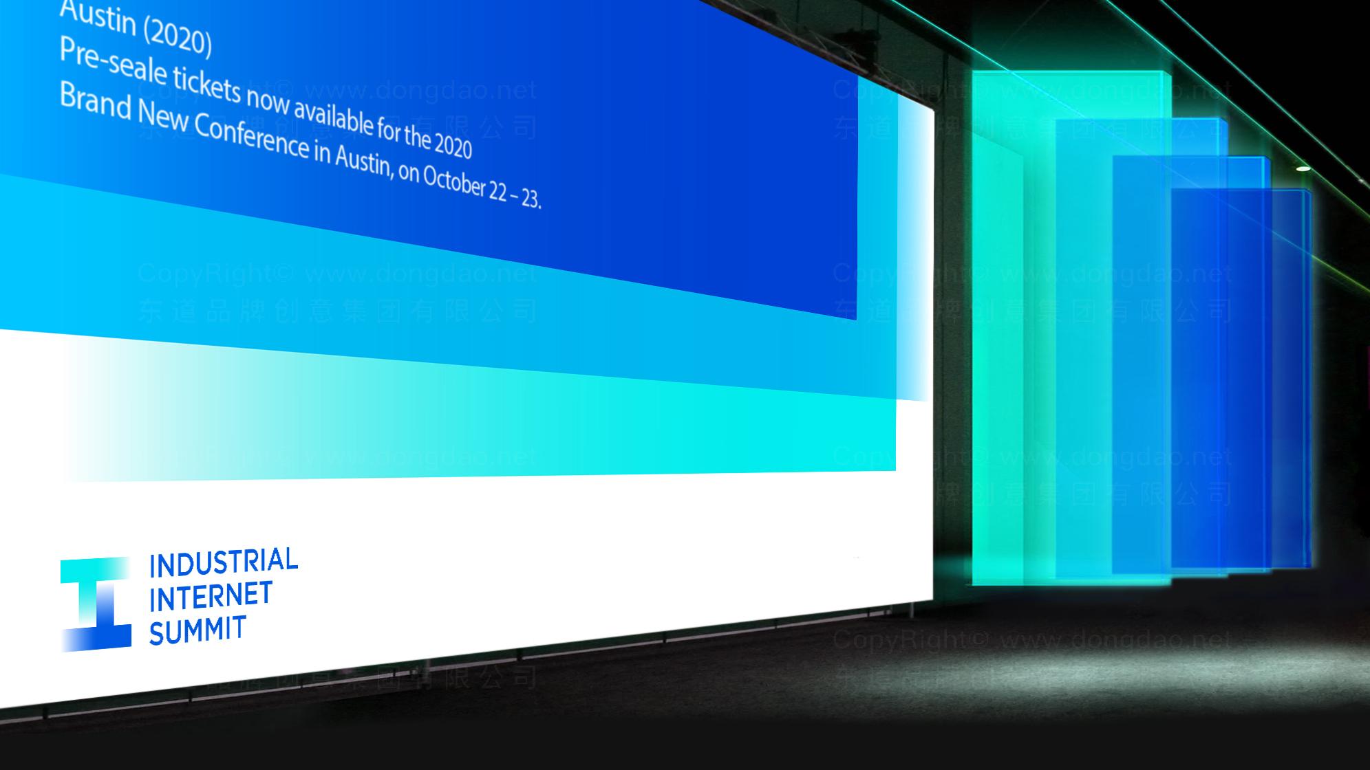 品牌设计工业互联网峰会LOGO设计应用场景_2