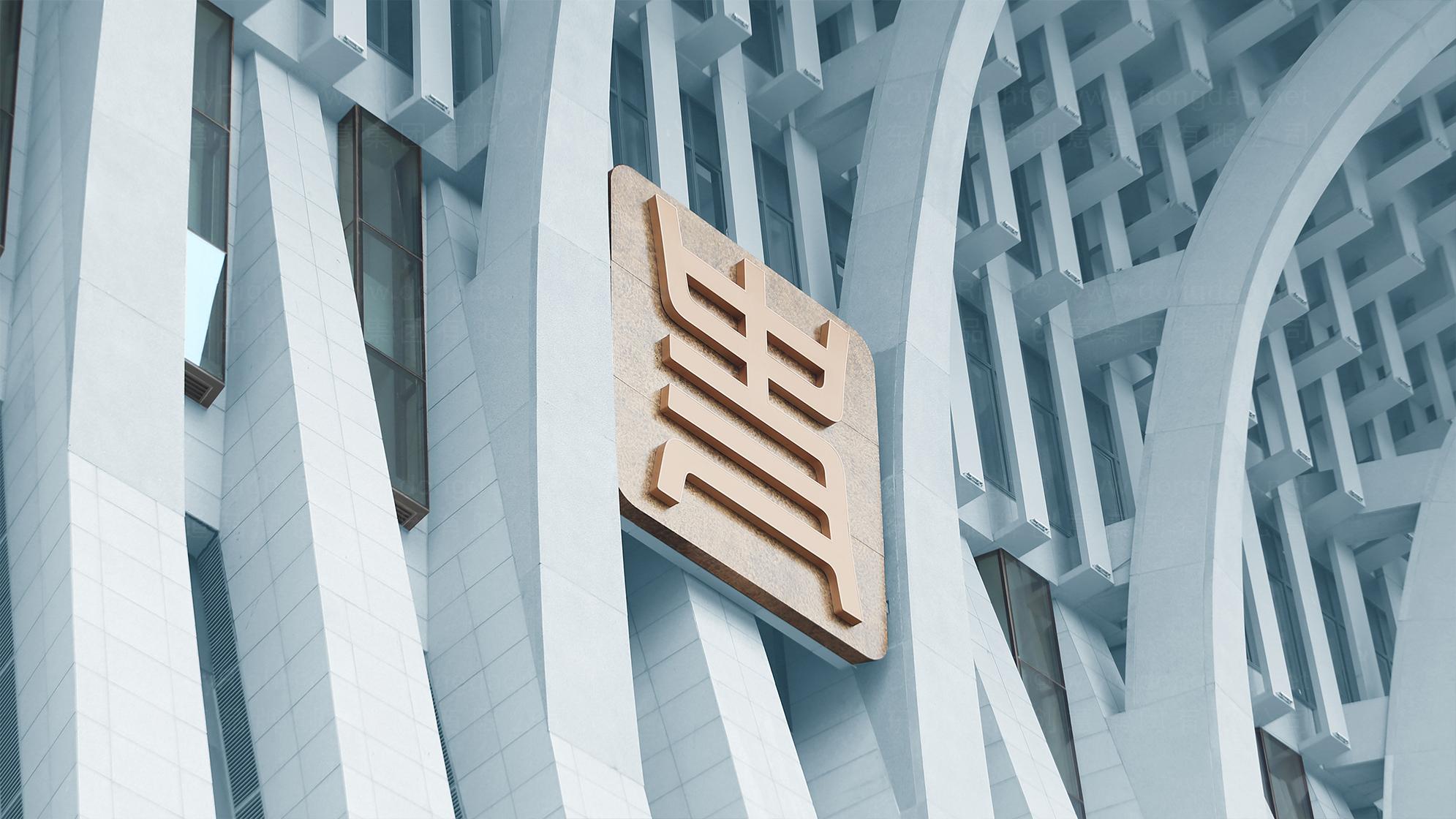 中国历史研究院品牌logo设计应用