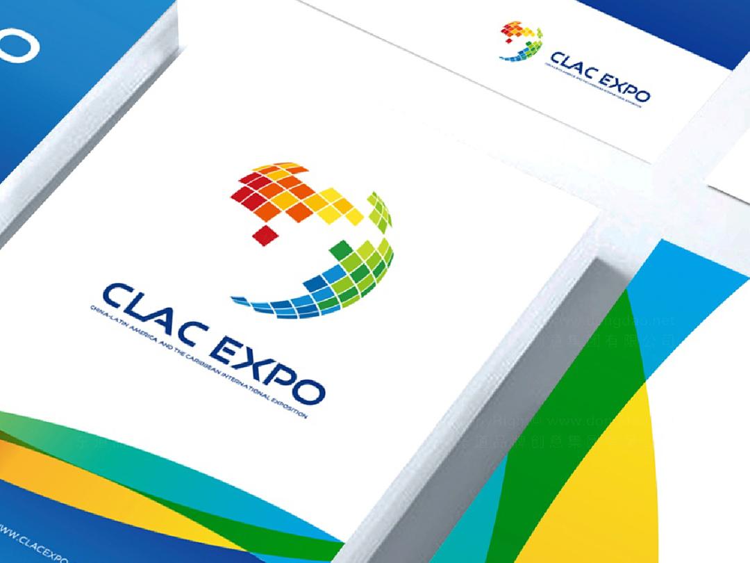 中拉国际博览会logo设计、vi设计应用场景_3