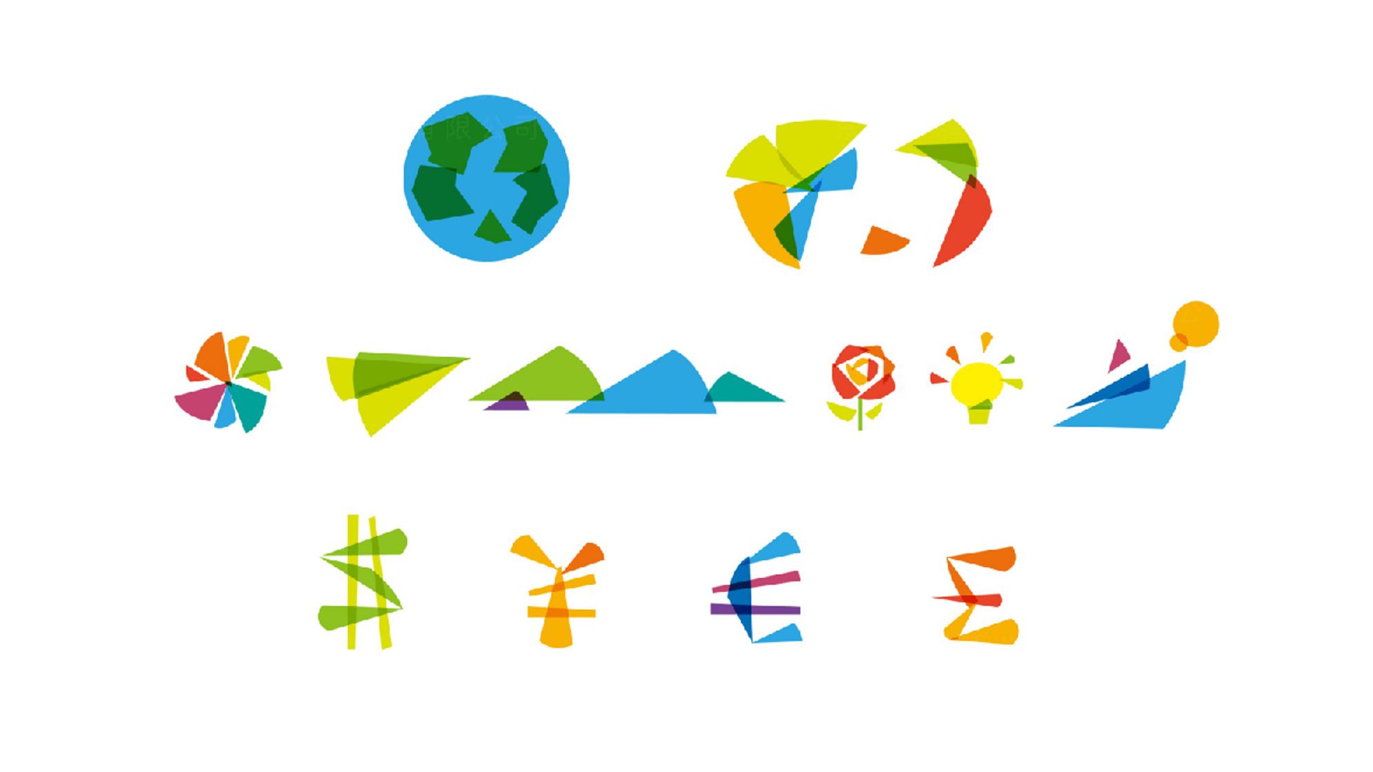 青年APEC会议LOGO设计、VI设计应用