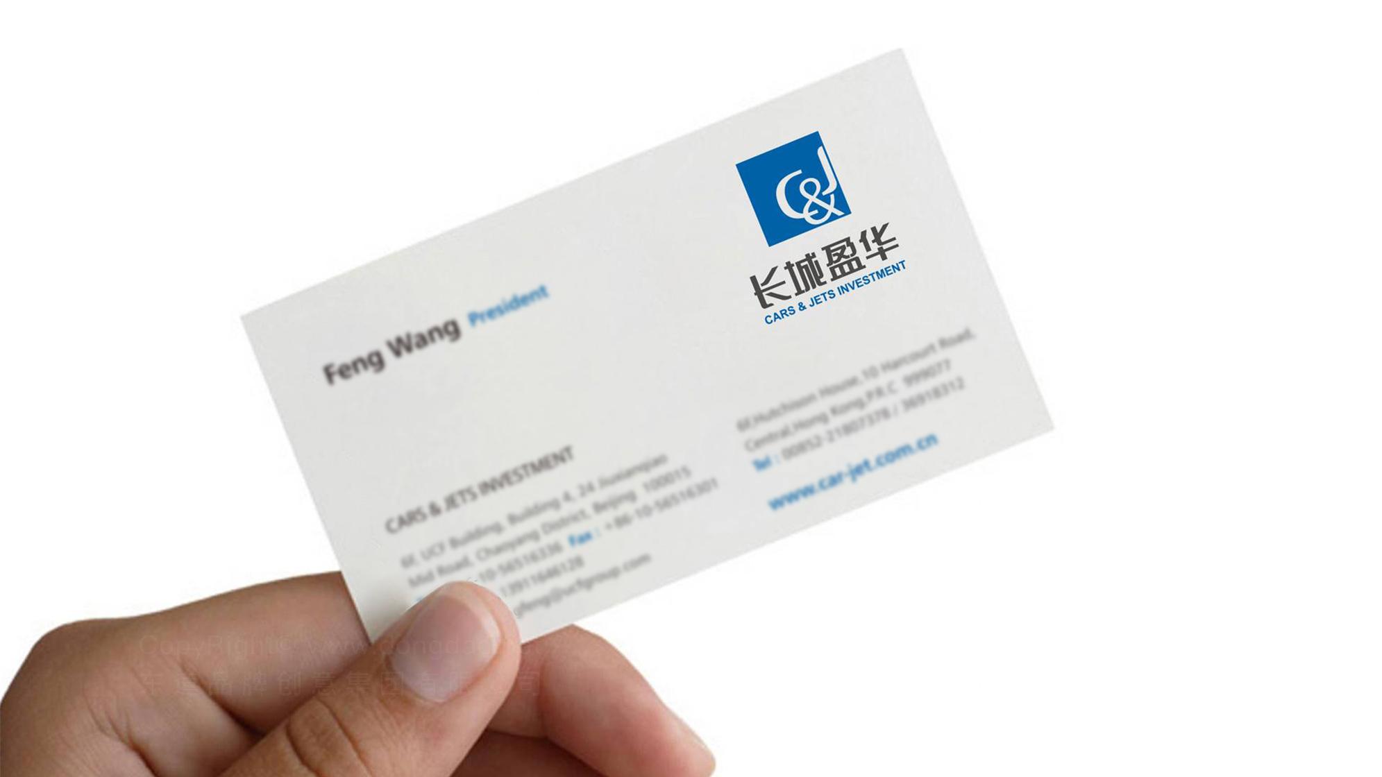 银行金融品牌设计长城盈华LOGO&VI设计