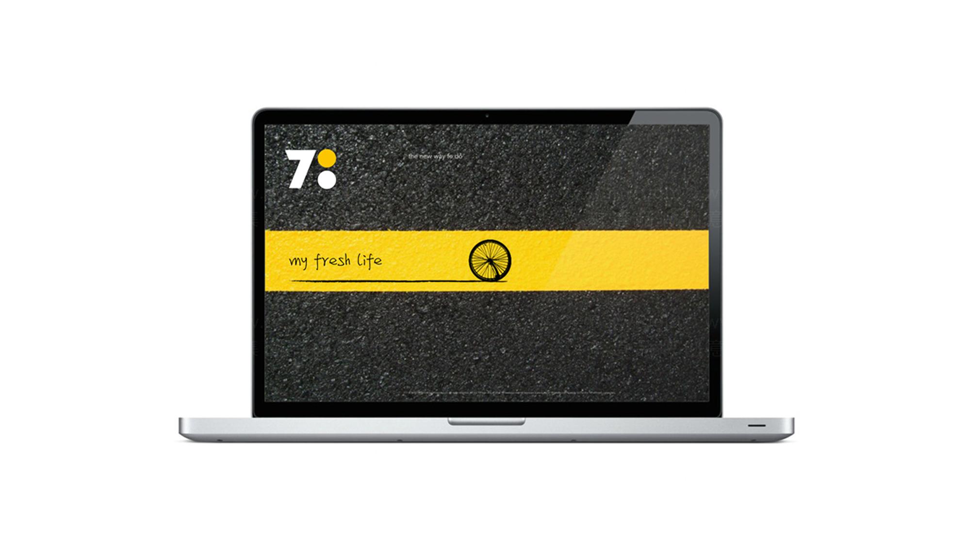 品牌设计700bike logo设计、vi设计应用场景_12