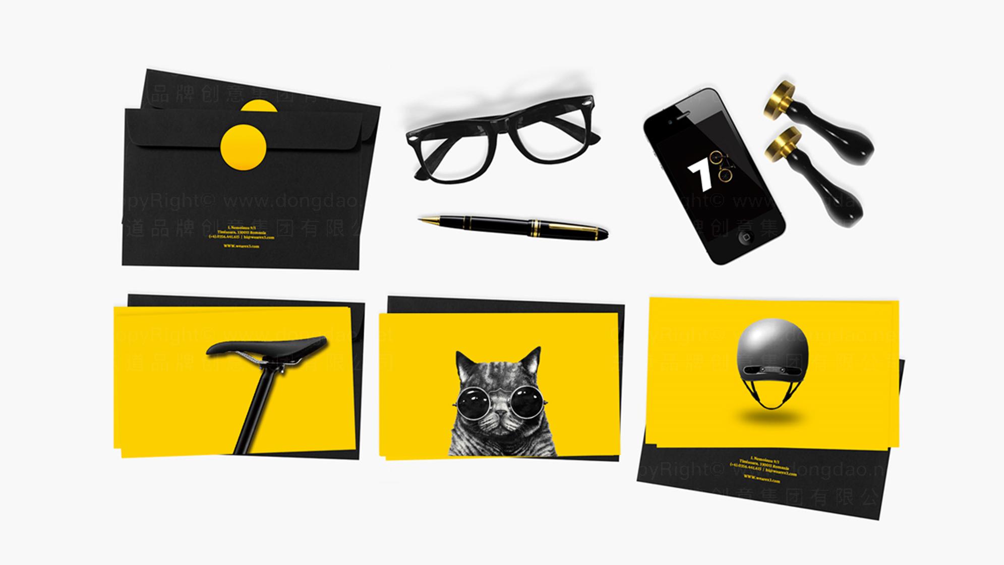 品牌设计700bike logo设计、vi设计应用场景_13