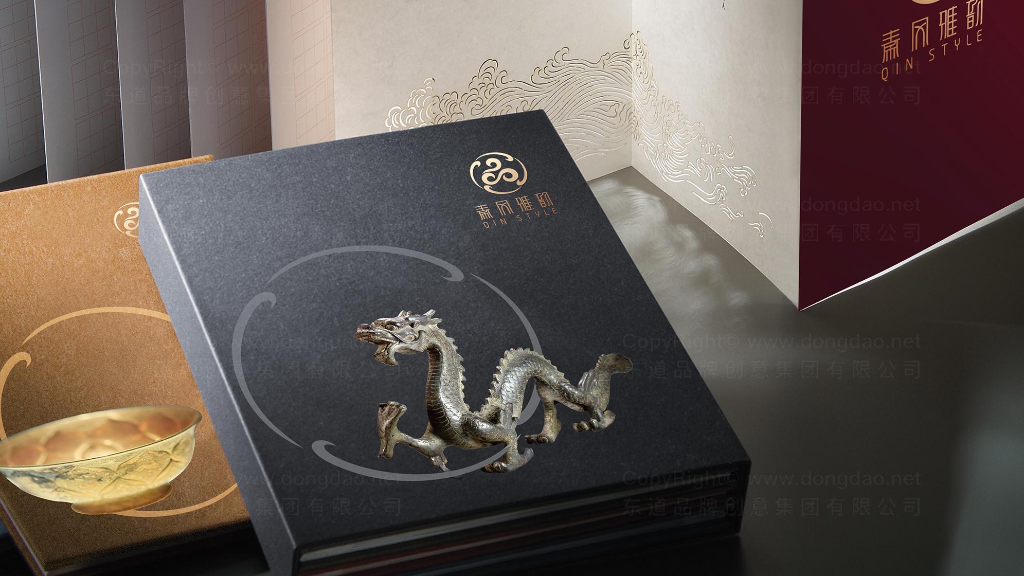 品牌设计秦风雅韵LOGO&VI设计应用场景_3