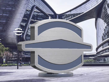 别桥无人机小镇logo设计