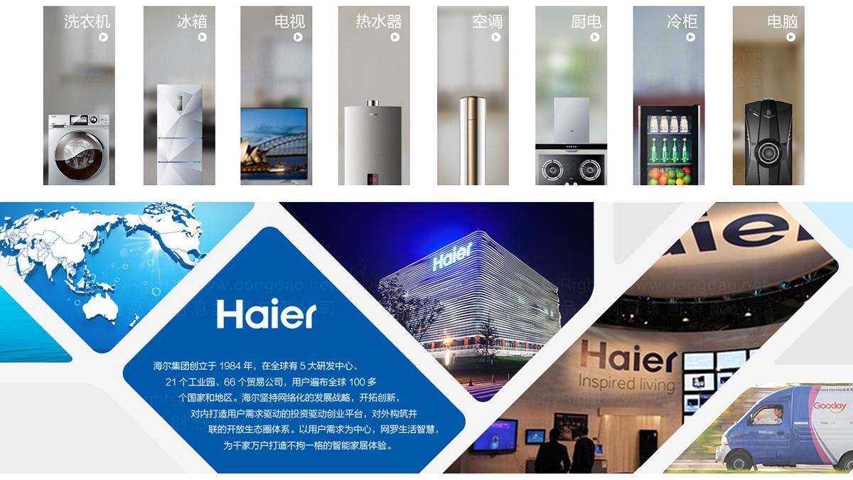 东道数字海尔网站设计应用场景_3