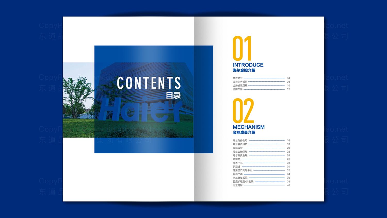 银行金融视觉传达海尔画册设计