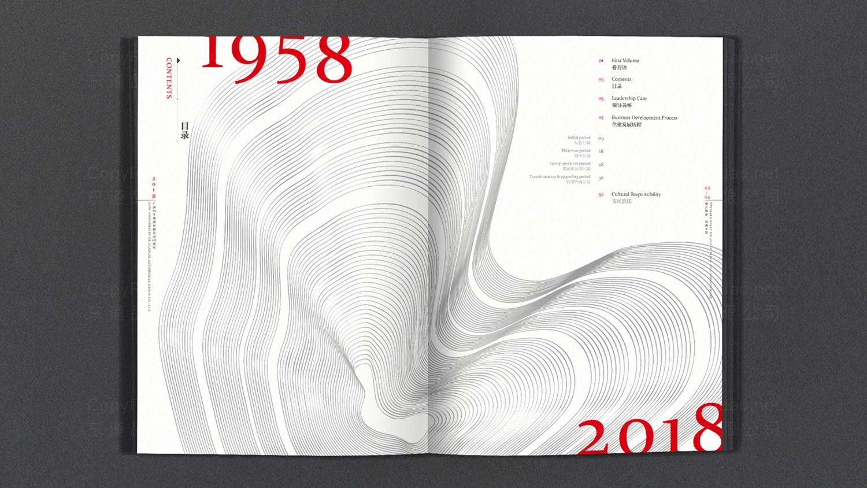 广西汽车60周年纪念册设计应用场景_2