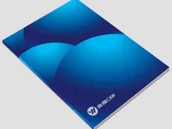 视觉传达画册设计兆维集团视觉传达方案