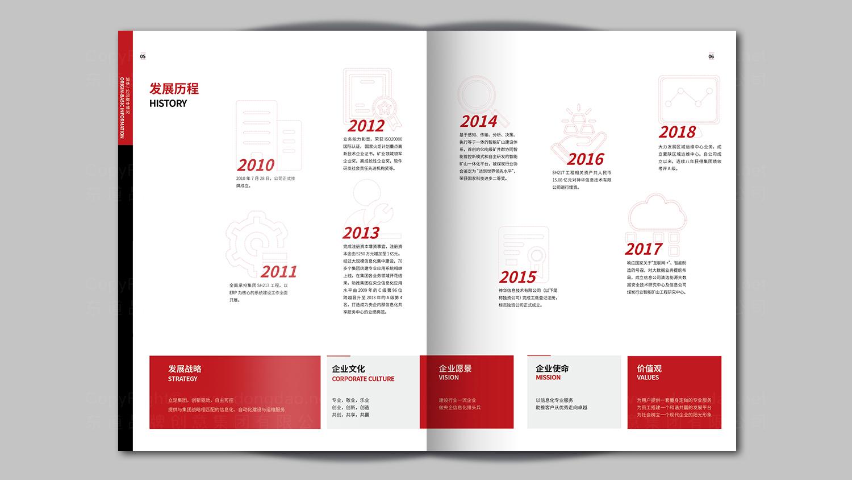 视觉传达神华信息技术画册设计应用场景_1