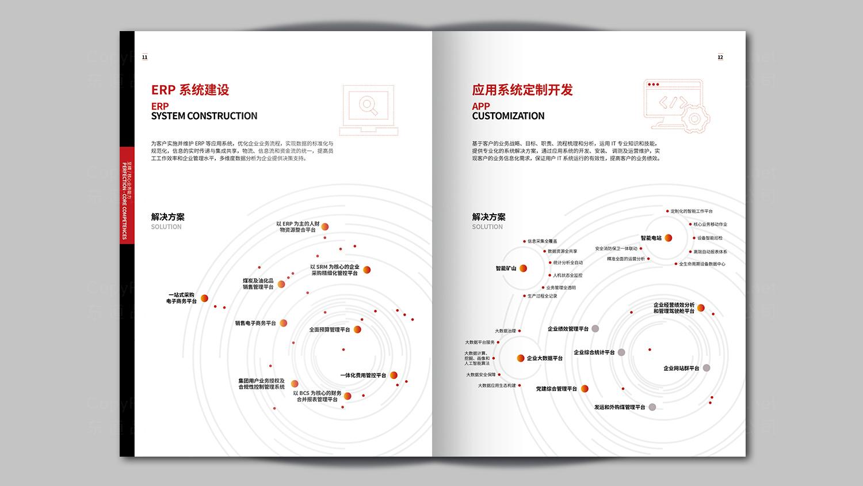 视觉传达神华信息技术画册设计应用场景_4