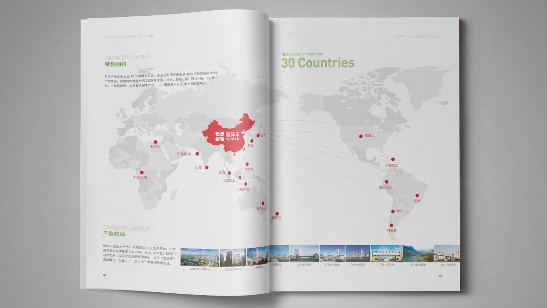 视觉传达新洋丰肥业画册设计应用场景