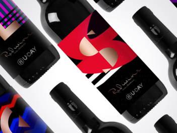 产品包装红酒系列U-Day产品包装方案