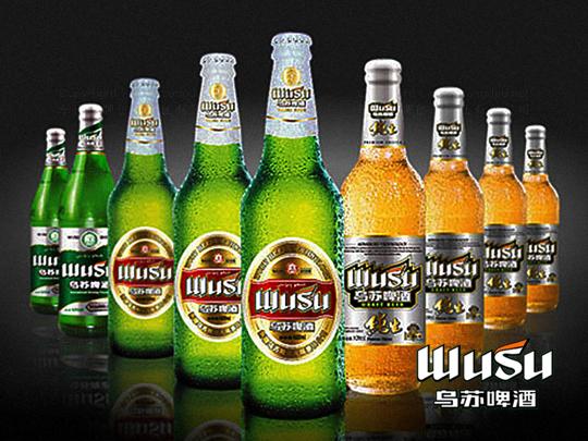 产品包装乌苏啤酒品牌包装应用场景