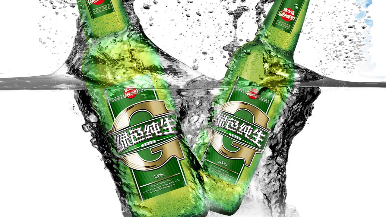 产品包装金士百啤酒品牌包装应用