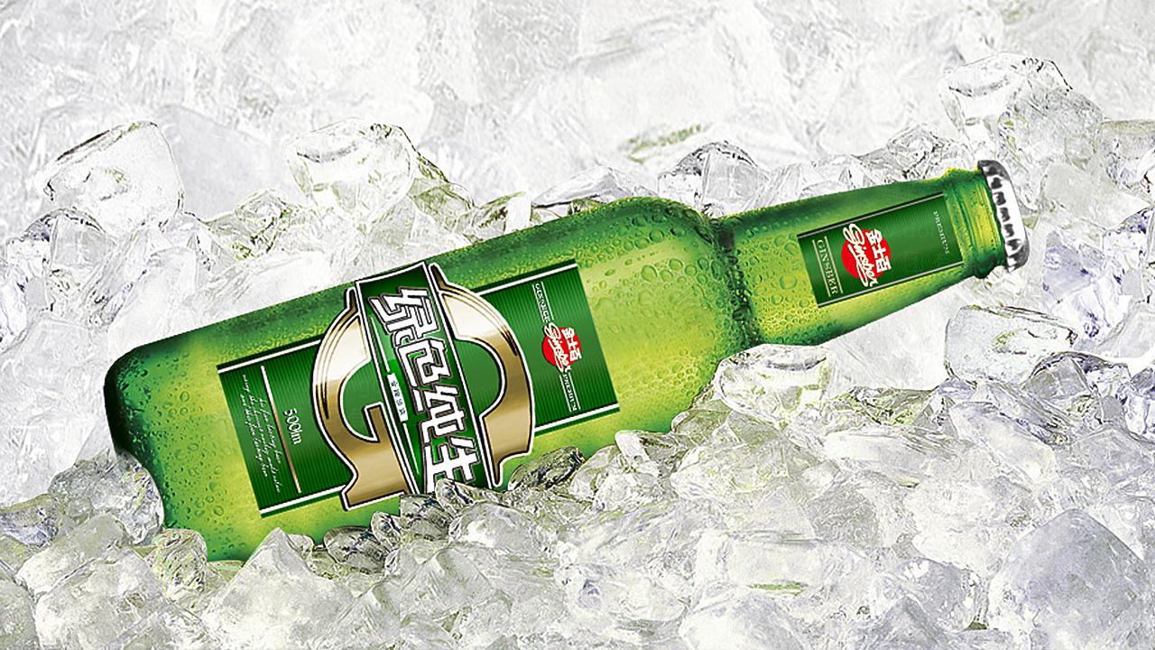 产品包装金士百啤酒品牌包装应用场景