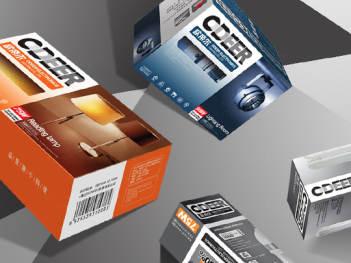 产品包装系列包装欧帝尔照明产品包装方案