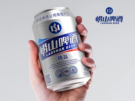 产品包装崂山啤酒崂山啤酒体系包装设计应用场景_7